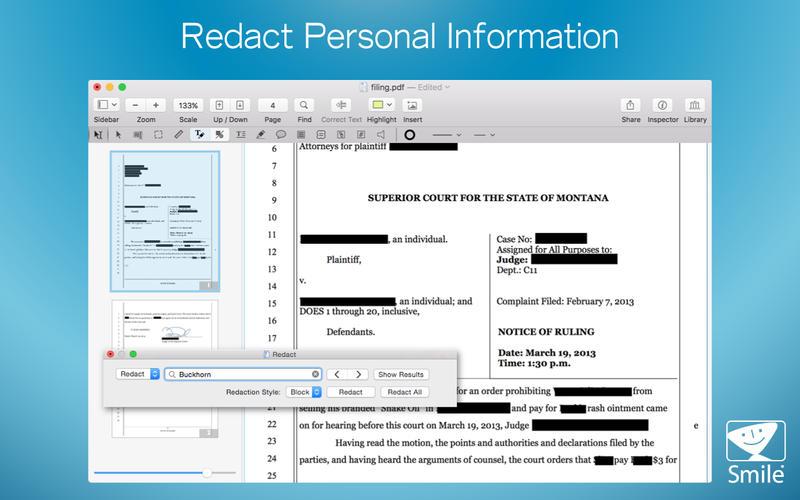 PDFpen 8 Screenshot