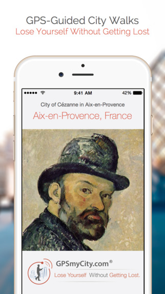 City of Cézanne in Aix-en-Provence (Lite Version) iPhone Screenshot 1