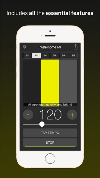Metronome M1 Screenshots