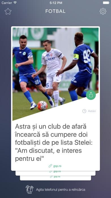 Liga I România iPhone Screenshot 1
