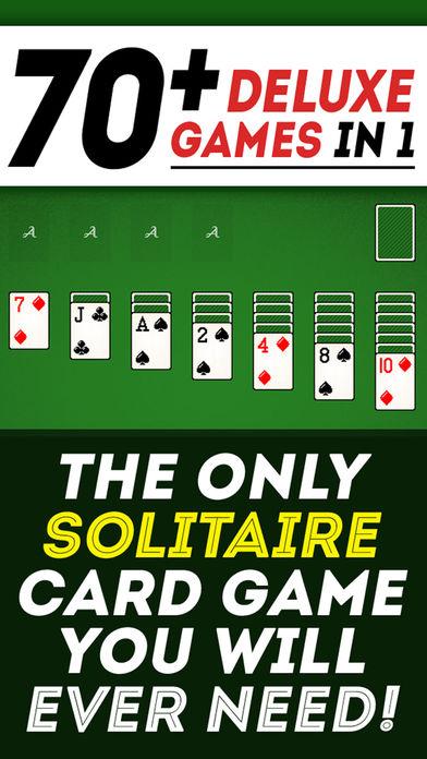 Screenshot 1 Solitaire 70+ игра Лучшие карточные игры бесплатно весело и употреблению игры