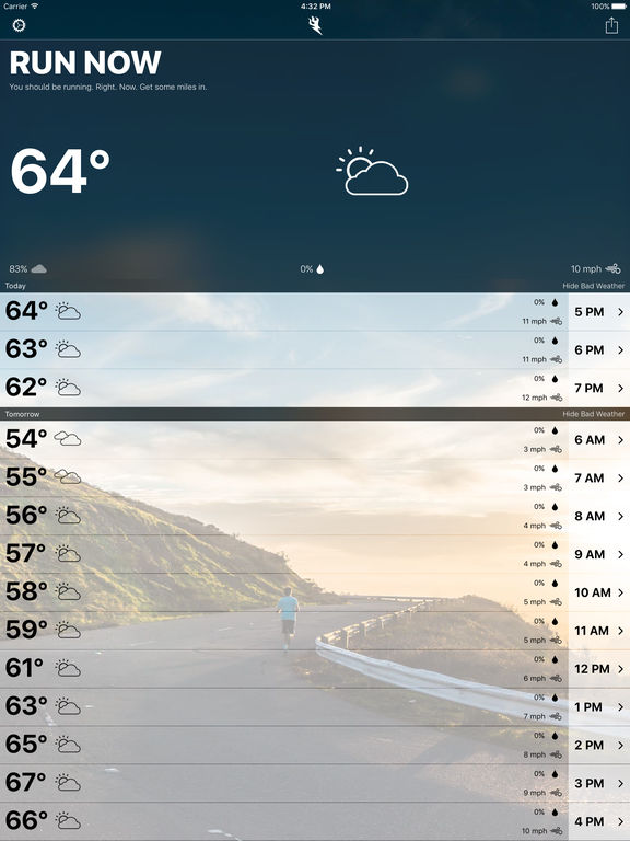 Runcast - Weather for Runners screenshot 5