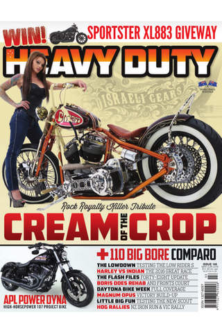Heavy Duty Magazine – Australia's No.1 Harley Davidson Magazine screen