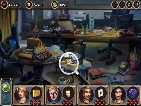 The Famous Fraudster- Hidden Objects Game Screenshots