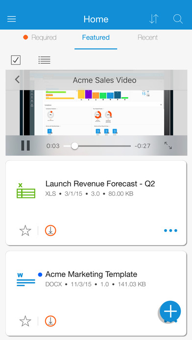 how to use airwatch content locker