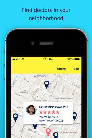 Zocdoc: Find & Book Doctors screenshot 3