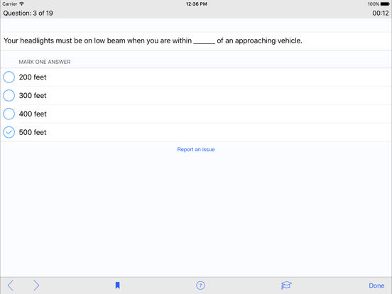 DMV Test Prep - South Dakota iPad Screenshot 4