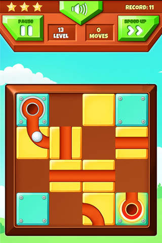 Roll The Ball - Free Puzzle Game screen
