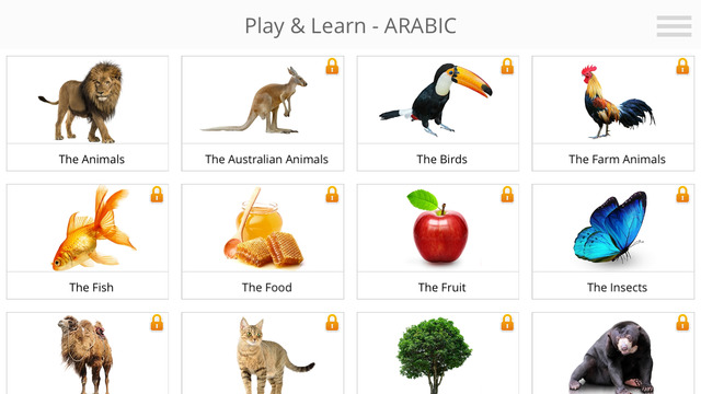 Play and Learn ARABIC fast with this free app for Android and iOS