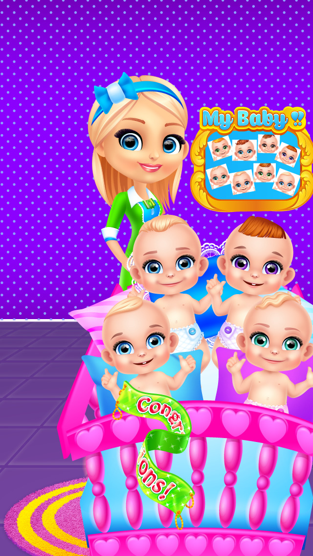 Baby octuplets
