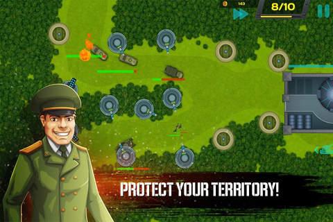 Tank Defense TD screenshot 2