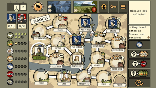 Maquis Board Game Screenshot
