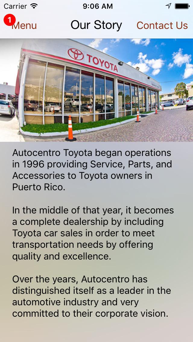 App Shopper Autocentro Toyota Dealerapp Business