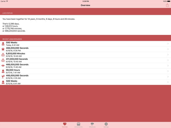 Relationship Calc iPad Screenshot 1