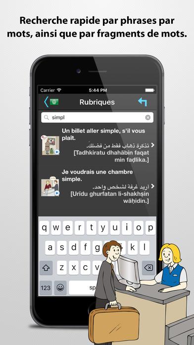 Le traducteur de voyage iPhone Screenshot 5