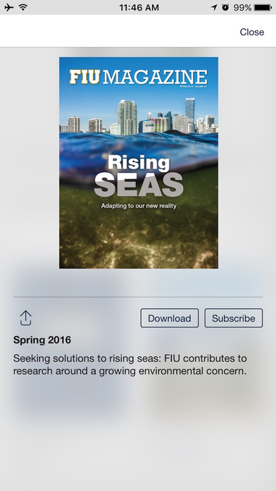 download FIU Magazine apps 0
