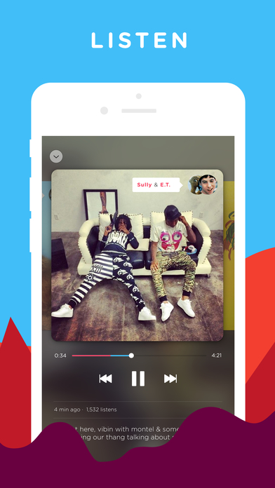 Bumpers - Record, Edit and Listen Screenshot