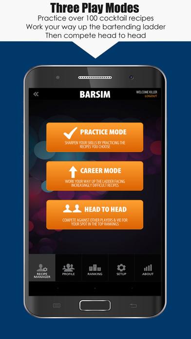 BarSim Bartender Game Screenshot