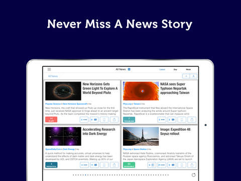 Space, Astronomy & NASA News screenshot