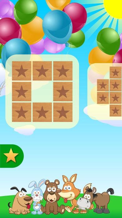 Супер память - детская обучающая игра, для развития и тренировки памяти Screenshot