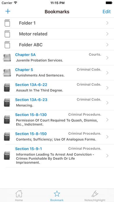 CA Vehicle Code - California Law iPhone Screenshot 4