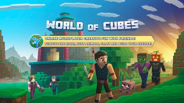 World of Cubes Survival Craft Screenshots