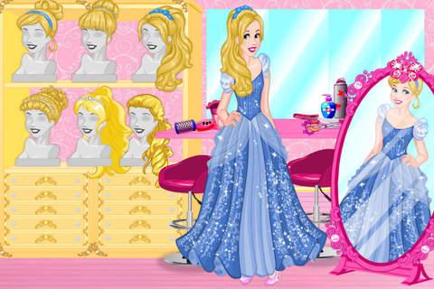 Blonde Princess Prom Shopping——Beauty Fantasy Salon/Cute Girls Make Up screenshot 2