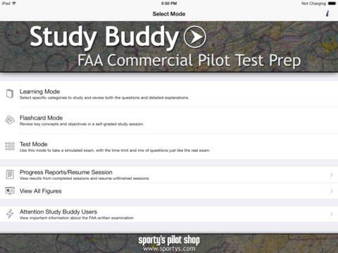 Study Buddy Test Prep (FAA Commercial Pilot)