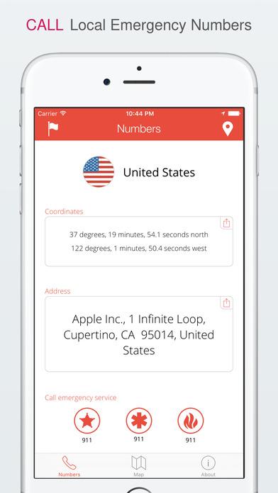 TripWhistle Global SOS - International Emergency Phone Numbers ...