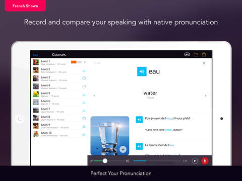 Learn Danish Vocabulary - Free WordPower iPad Screenshot 3