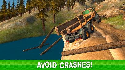 Timber Truck Driving Simulator 3D Full screenshot 3
