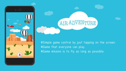 Air Adventure 2.0: Easy Addictive and Fun Flying Adventure for Everyone Image