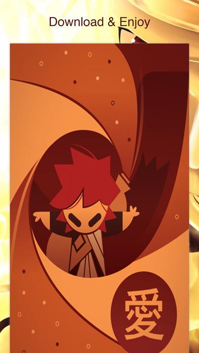 Screenshots of Wallpapes for Naruto Manga Anime Free HD for iPhone