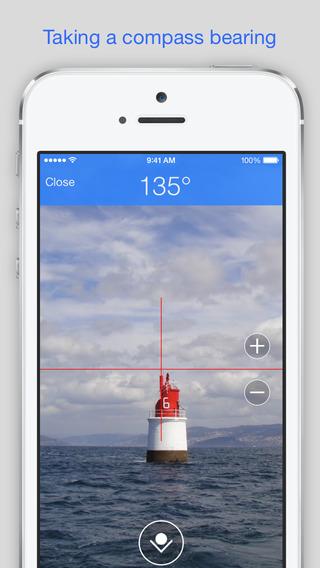 Screenshots for Bearing Pilot - Hand bearing compass