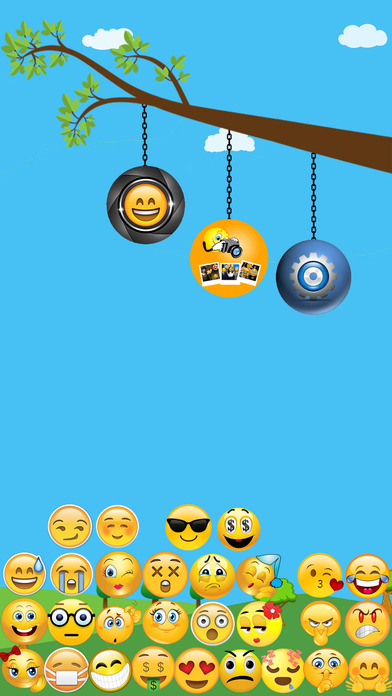 Emoji Camera - taking colorful photos with emojis Screenshot