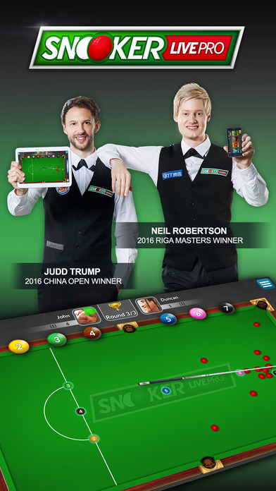 Snooker Live Pro & Six-red Screenshot