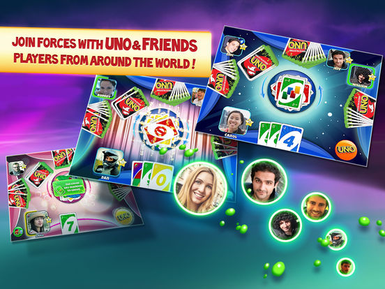 Screenshots of UNO ™ & Friends – The Classic Card Game Goes Social! for iPad