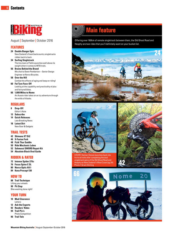 Mountain Biking Australia Magazine screenshot