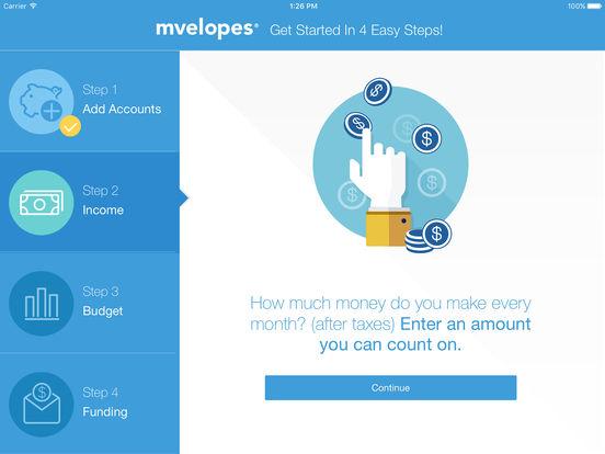Mvelopes - Budget App & Envelope Budgeting screenshot