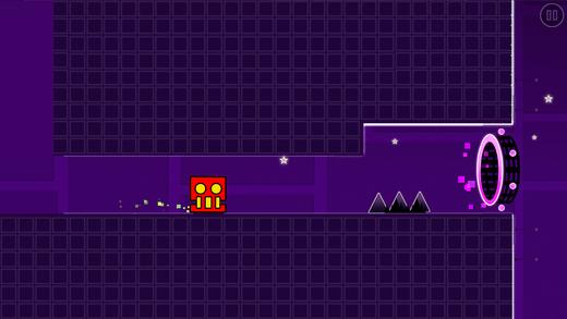 Steppy Cube Dash Meltdown Screenshot