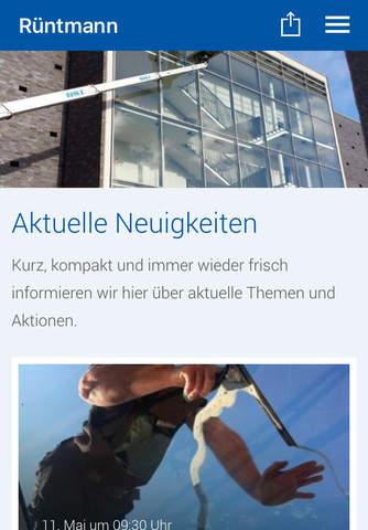 Gebäudereinigung Rüntmann screenshot 1