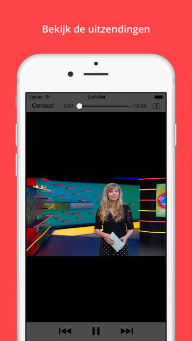 NOS Jeugdjournaal iPhone Screenshot 4
