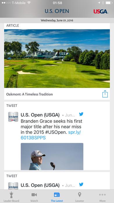 U.S. Open Golf Championship iPhone Screenshot 4