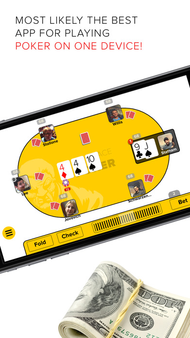 Anyplace Poker Offline. Texas Holdem with friends. screenshot 1