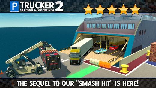 Trucker Parking Simulator 2 АвтомобильГонки ИгрыБесплатно Screenshot