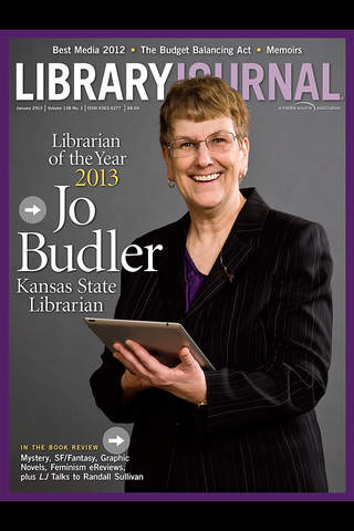 Library Journal screen