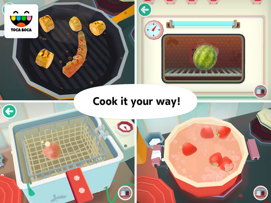 Toca Kitchen 2 iPad