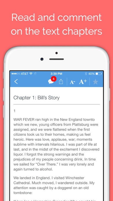 Screenshot for Big Book Audio - Unofficial Audiobook for Alcoholics Anonymous in United States App Store