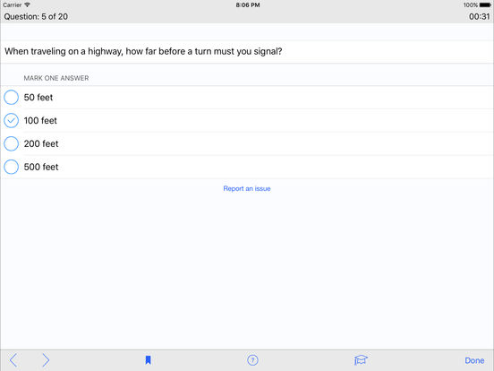 DMV Test Prep - Louisiana iPad Screenshot 3