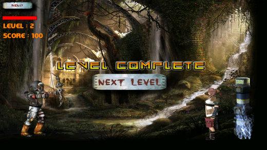 Ninja Fantasy Arrow 3D - Real Uber Sprint & Archery Clash Game Screenshot